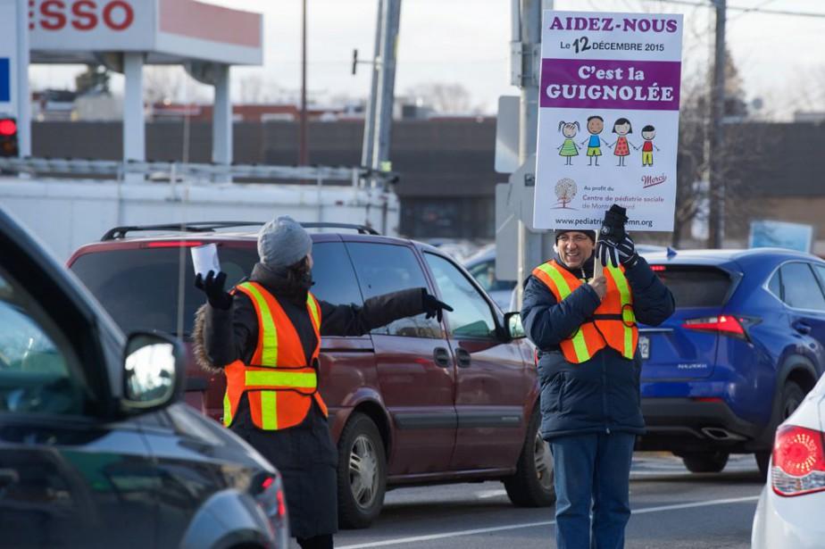 L'an dernier, la Guignolée du Centre de pédiatrie... (Photo fournie par le Centre de pédiatrie sociale de Montréal-Nord)