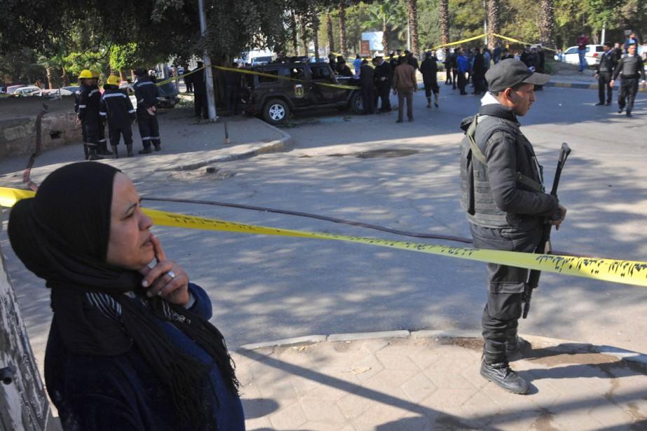 L'explosion d'une bombe a eu lieu dans le... (PHOTO AFP)