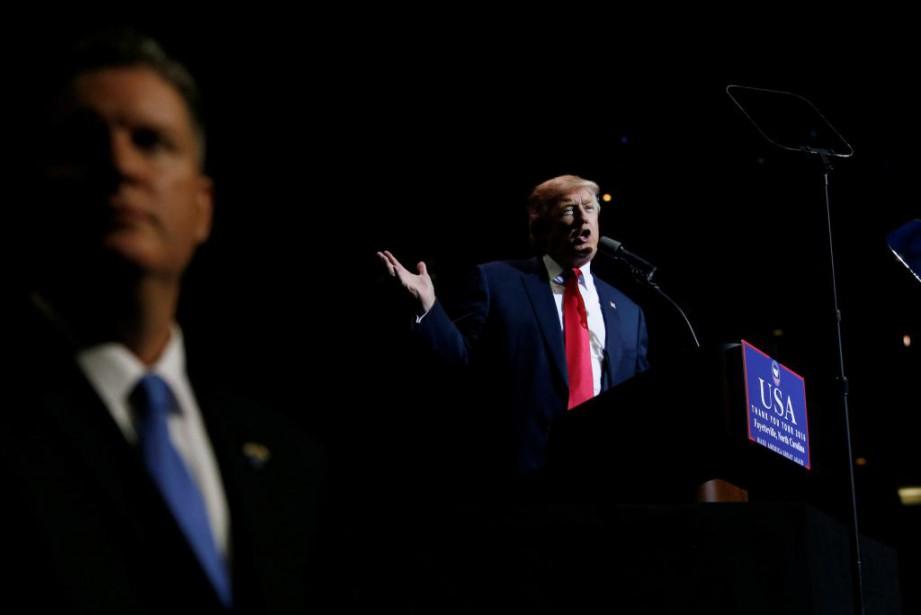 Le président désigné des États-Unis, Donald Trump... (PHOTOShannon Stapleton, Reuters)