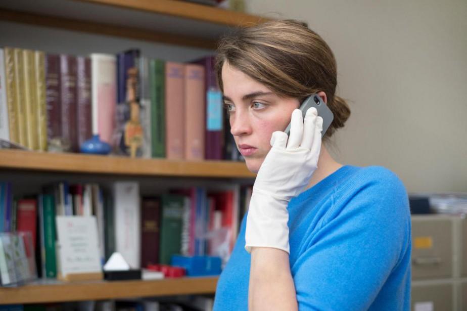 DansLa fille inconnue,Adèle Haene incarne une médecin qui,... (Photo fournie par AZ Films)
