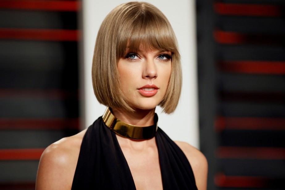 La popstar américaine Taylor Swift a créé la surprise... (PHOTO ARCHIVES REUTERS)