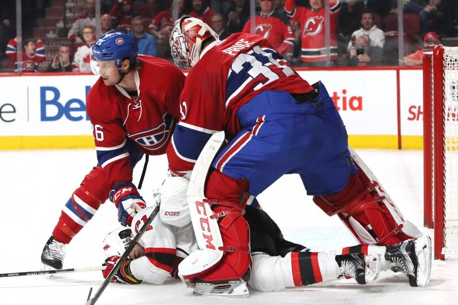 Carey Price aurait pu être expulsé du match... (Photo Jean-Yves Ahern, USA Today Sports)