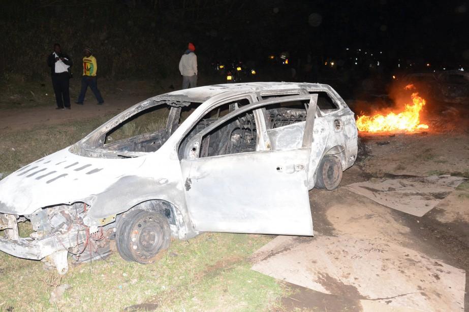 Des témoins ont vu une «boule de feu»... (Photo Reuters)