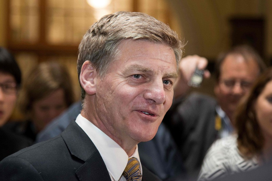 Bill English... (Photo archives AFP)
