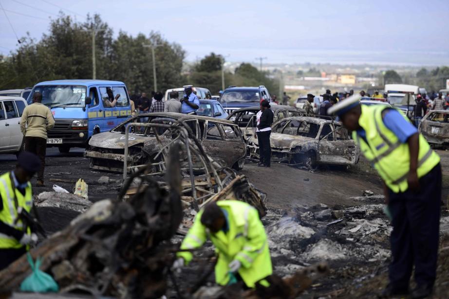 L'accident s'est produit samedi soir à Karai, près... (AFP)