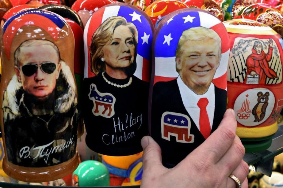 Les critiques de Donald Trump à l'égard de... (Photo Kirill KUDRYAVTSEV, archives AFP)