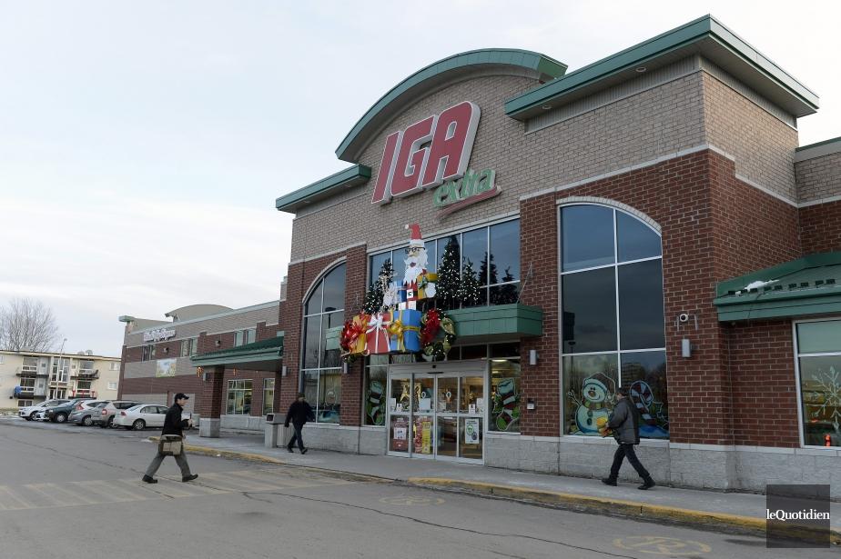 Empire - société mère des supermarchés IGA-présentera les... (Photo Le Quotidien, Jeannot Lévesque)