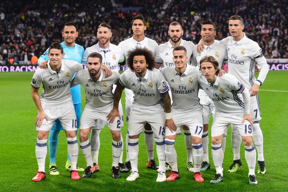Le Real Madrid (sur la photo), tenant du... (Photo Pierre-Philippe Marcou, AFP)