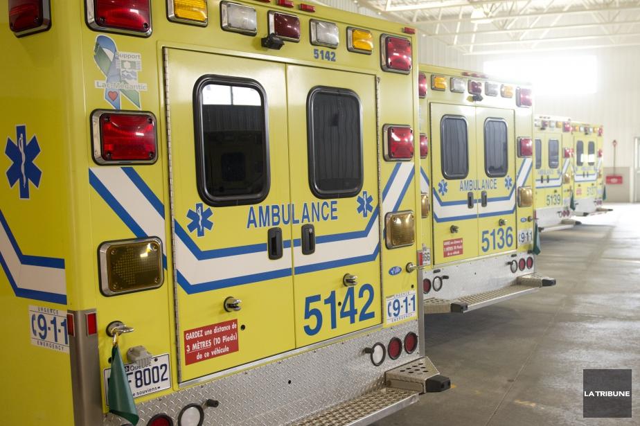 Les 3600 ambulanciers... (Photo Julien Chamberland, archives La Tribune)
