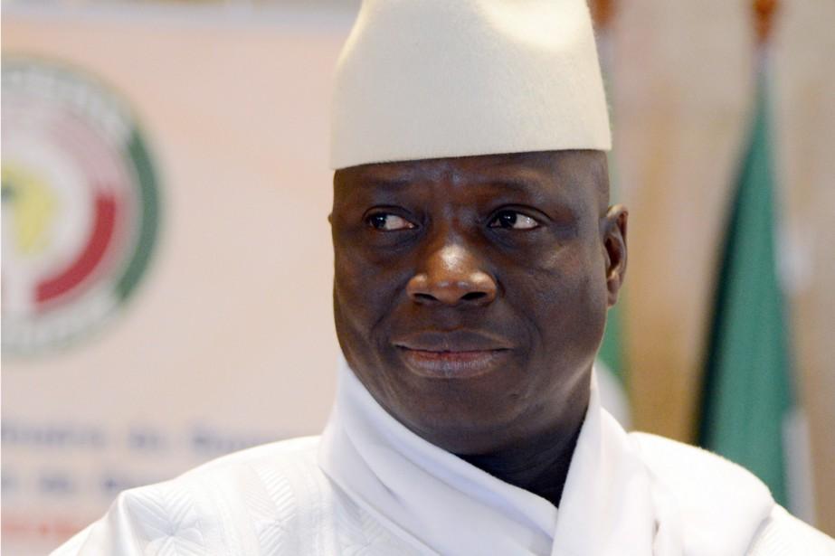 Yahya Jammeh.... (photo ISSOUF SANOGO, archives Agence France-Presse)