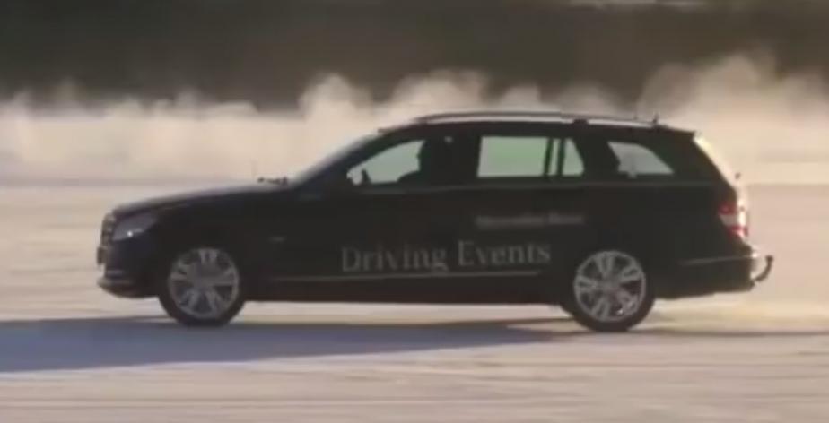 La Mercedes-Benz Classe C familiale ()