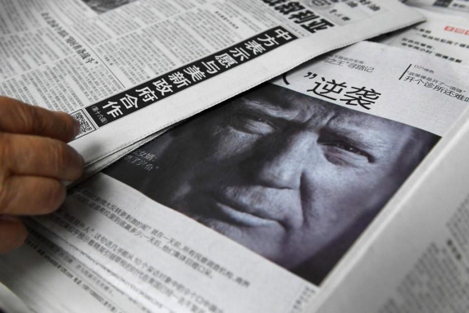 Donald Trump multiplie les sorties controversées sur Taiwan... (Archives AFP,Greg Baker)