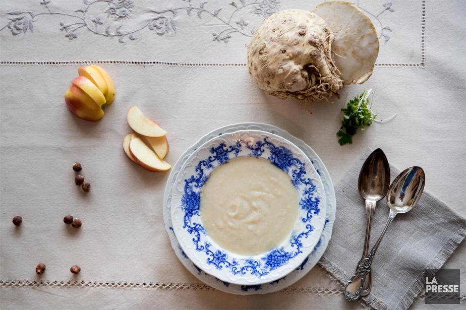 Crème de céleri-rave... (PHOTO MARCO CAMPANOZZI, LA PRESSE)