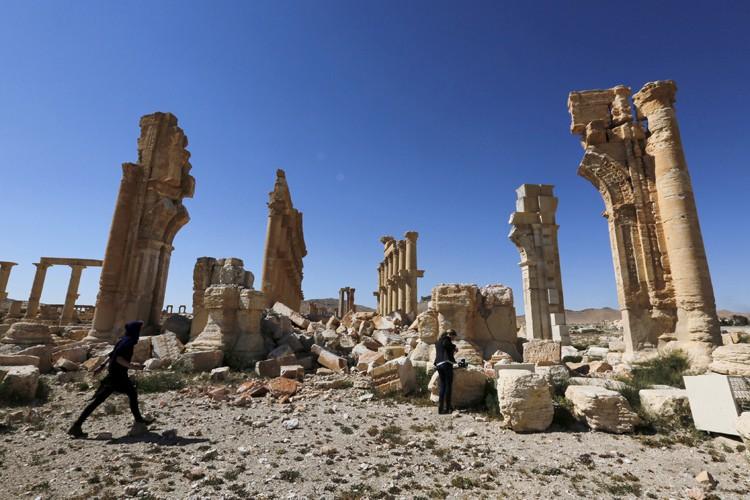 La cité antique de Palmyre, en Syrie, a... (REUTERS)
