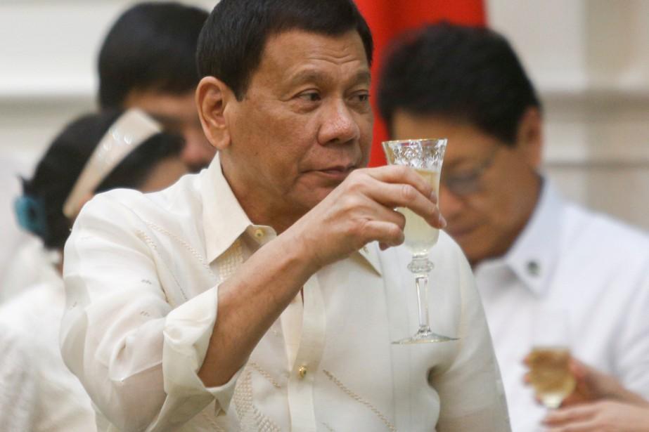 Le président philippin Rodrigo Duterte.... (REUTERS)