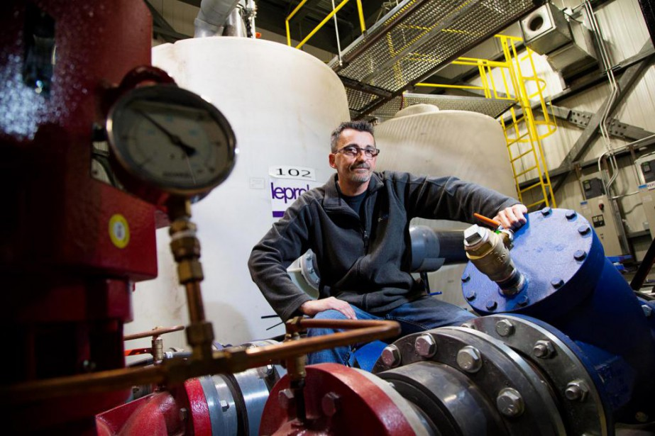 Alain Roucau, directeur de maintenance chez Polar Pak,... (Photo Alain Roberge, La Presse)