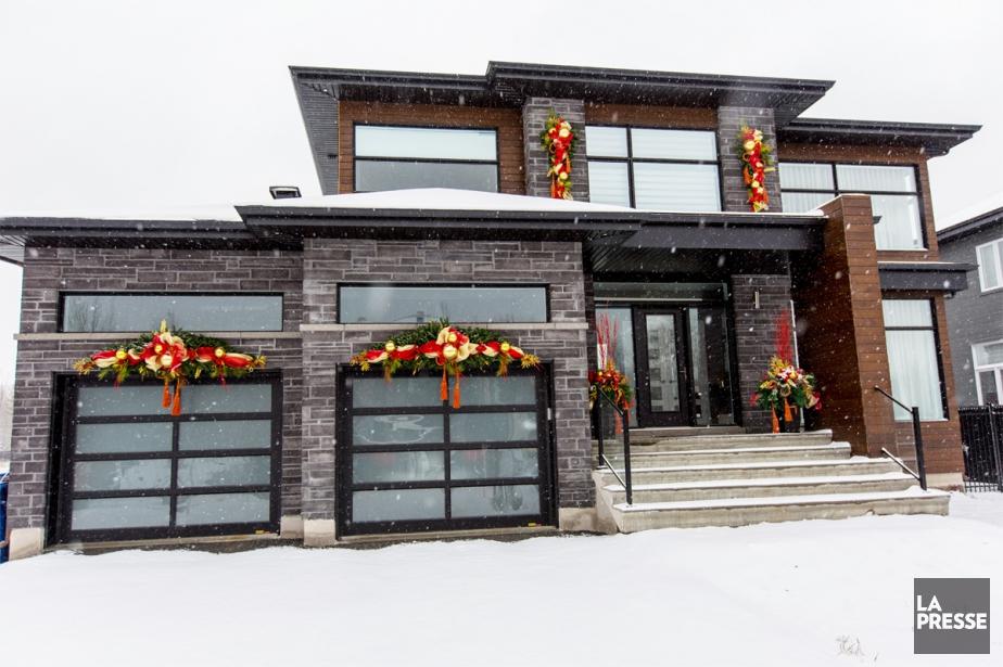 Les propriétaires de cette maison de Blainville ont... (PHOTO OLIVIER JEAN, LA PRESSE)