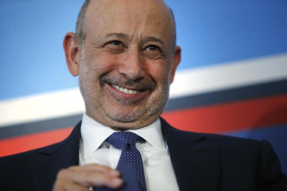 Lloyd Blankfein, PDG de Goldman Sachs... (REUTERS)