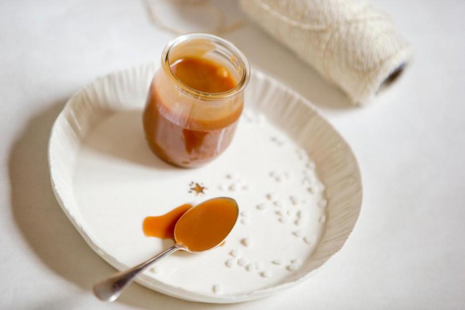 Le caramel de Thérèse André... (PHOTO DAVID BOILY, LA PRESSE)