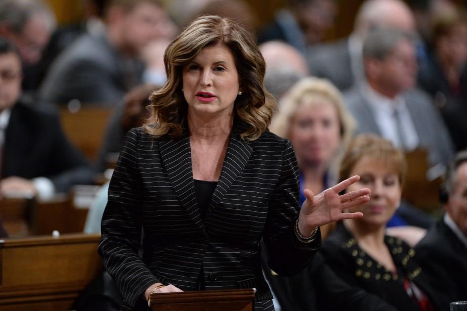 Rona Ambrose,chef intérimaire du Parti conservateur... (Photo Adrian Wyld, Archives La Presse Canadienne)