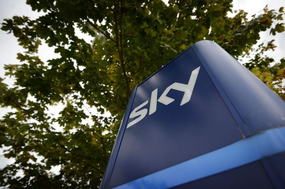 Le siège socialdu groupe de télévision britannique Sky,... (AFP)