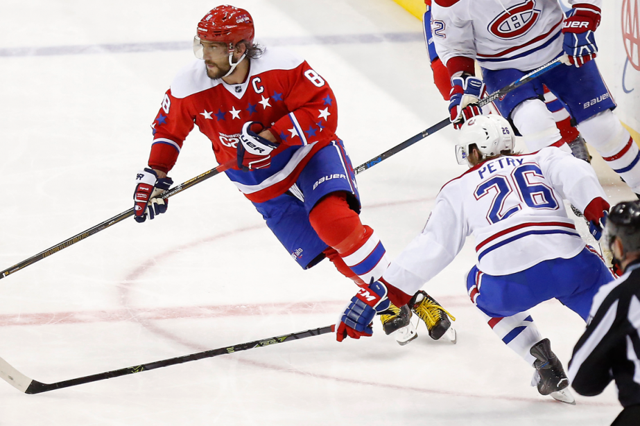 Alexander Ovechkin et Jeff Petry... (Photo archives USA Today Sports)