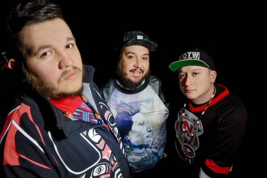 Le succès du trio autochtone A Tribe Called... (Photo fournie par Fallin Tree)