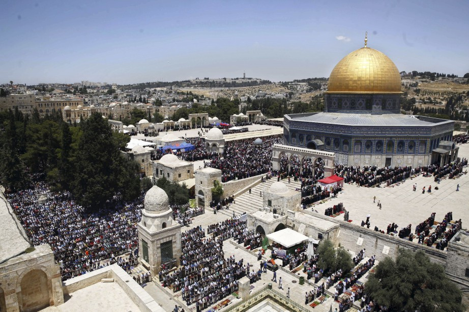 Israël occupe Jérusalem-Est depuis 1967 et a proclamé... (photo Mahmoud Illean, archives AP)