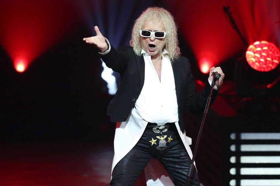 Le chanteur français Michel Polnareff, hospitalisé début... (PHOTO ARCHIVES AFP)