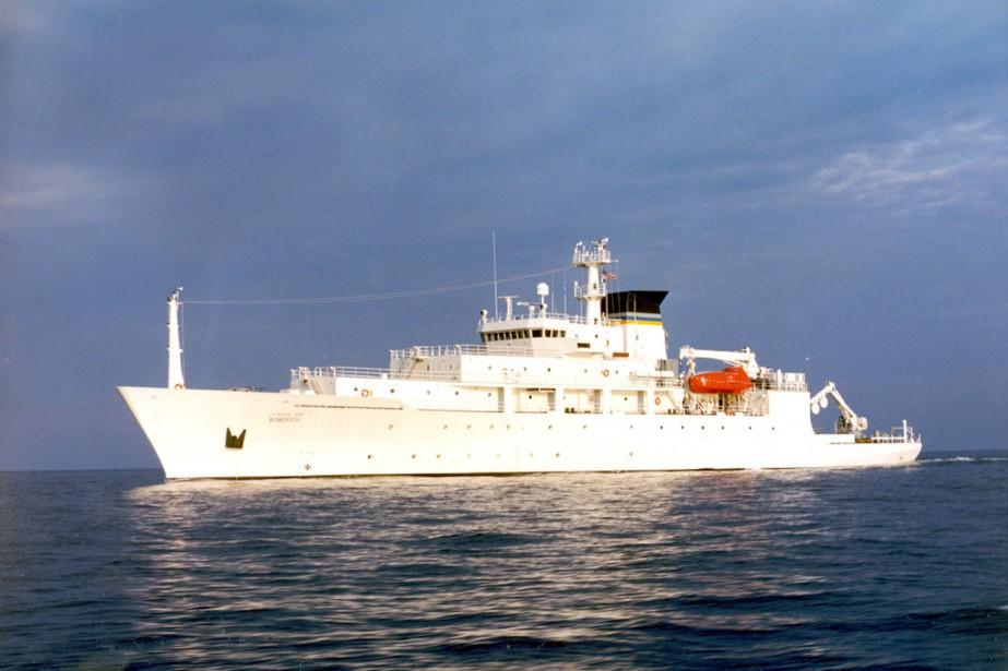 L'incident est survenu au moment où l'équipage civil... (photo archives marine américaine/REUTERS)