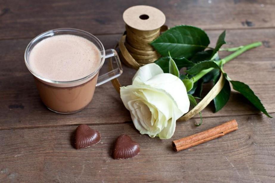 Recette de chaï latté au chocolat... (Photo fournie par les thés Hestia)