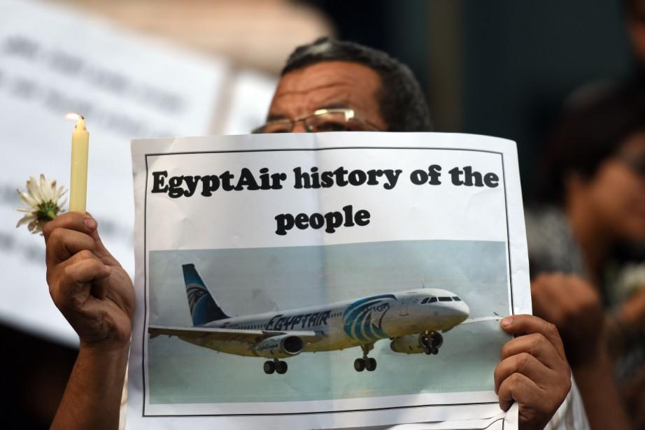 Les autorités égyptiennes ont toujours privilégié la piste... (PHOTO MOHAMED EL-SHAHED, ARCHIVES AFP)