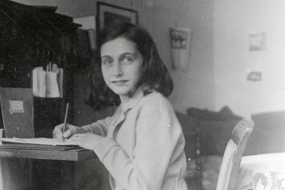La petite Anne Frank, en 1941.... (PHOTO ARCHIVES AFP)