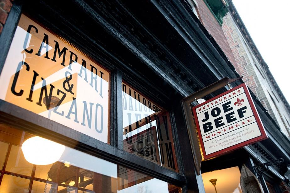 LerestaurantJoe Beef de Montréal... (Photo Graham Hughes, archives PC)