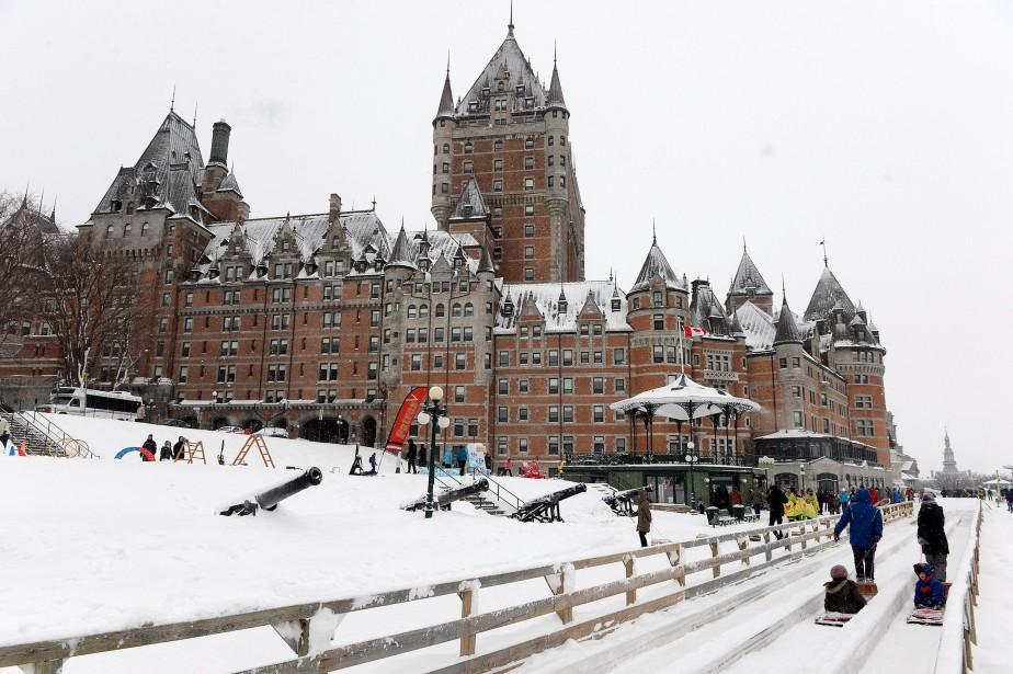 Mais la troisième Grande Fête hivernale, qui s'est tenue en fin de semaine, a eu besoin de ses deux journées (et d'un petit répit de la part de Dame Nature) pour finir par attirer les foules. (Le Soleil, Erick Labbé)