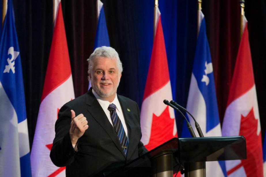 «CROP conclut que le PLQ devance le PQ... (Photo Ivanoh Demers, Archives La Presse)