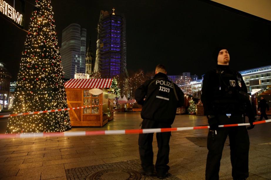 La police a sécurisé le périmètre. (Photo Reuters)