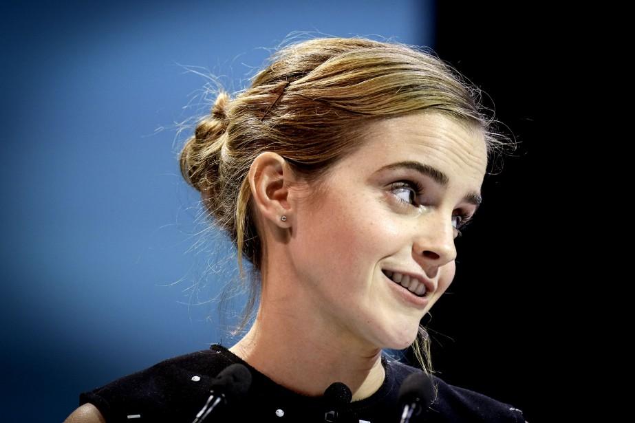 L'actrice Emma Watson était conférencière invitée au sommet One Young World, le 29 septembre dernier,à Ottawa. | 19 décembre 2016