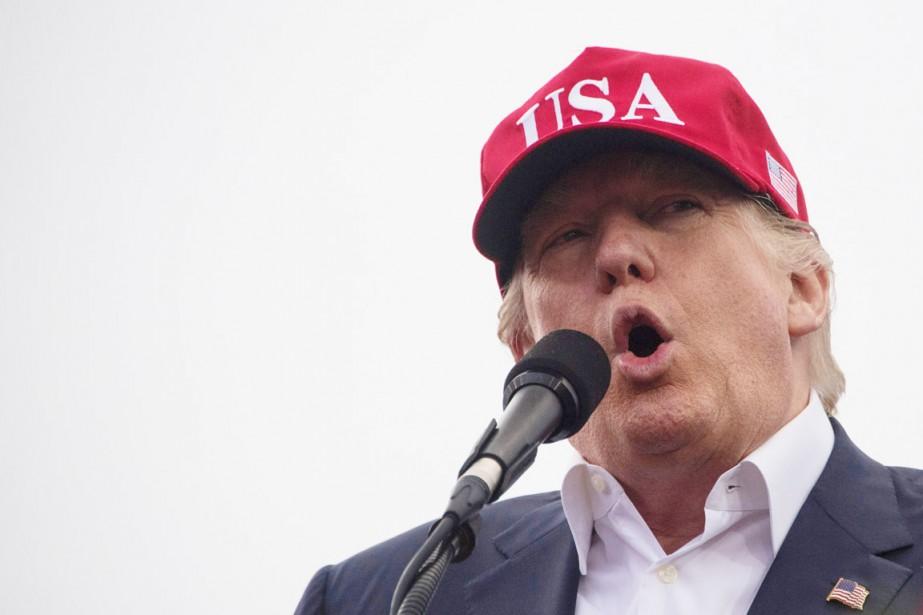 Donald Trump s'est tourné vers Twitter pour riposter... (photo JIM WATSON, Agence France-Presse)