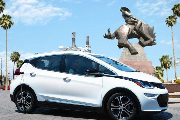 Cette Bolt autonome a été testée en Californie... (Photo : Cruise automation)