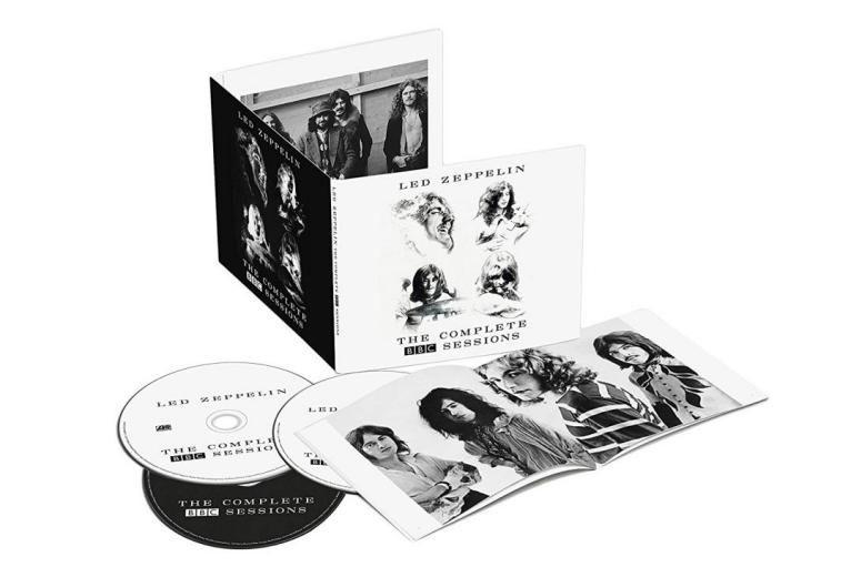 Led Zeppelin:The Complete BBC Sessions... (image fournie par warner)
