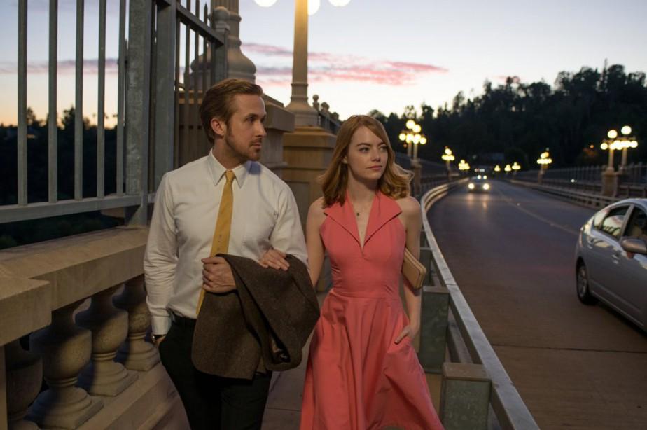 Emma Stone et Ryan Gosling dans La La... (Fournie par Lionsgate)