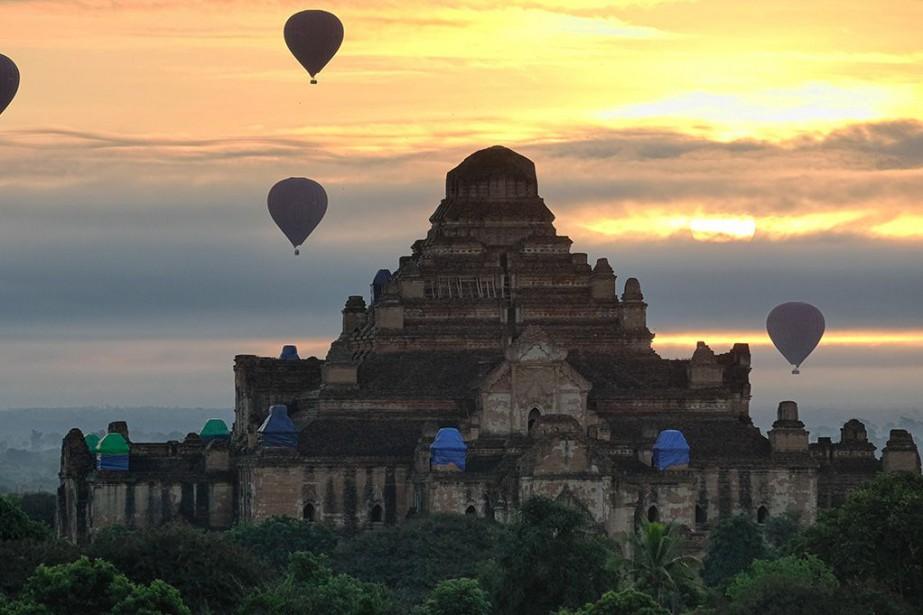 L'un des quelques milliers de temples historiques de... (Photo Jonathan B. Roy, collaboration spéciale)