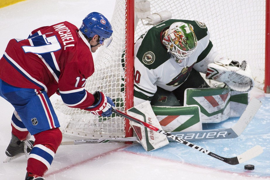 Torrey Mitchell et Devan Dubnyk... (Photo Graham Hughes, archives PC)
