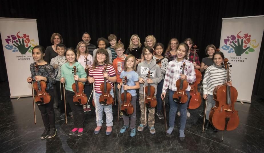 Le 16 décembre dernier, la fondation evenko et... (Photo fournie par Pat Beaudry, Fondation evenko)