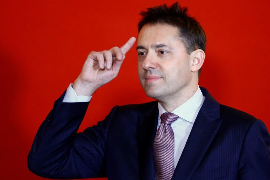 L'Autrichien Bogdan Roscic, président de Sony Classical, est...