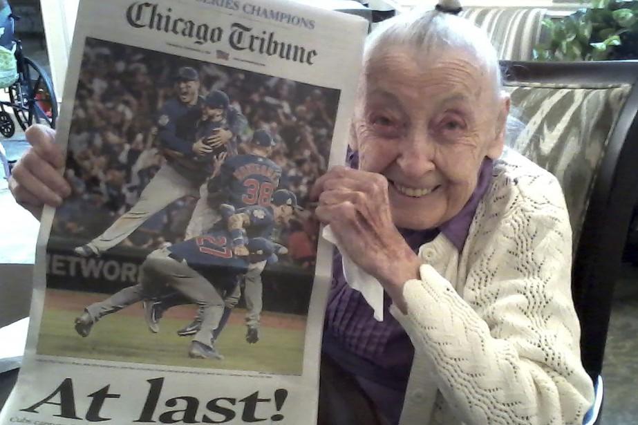 Helen Weithmanest décédée le 29 novembre, à l'âge... (Photo AP)