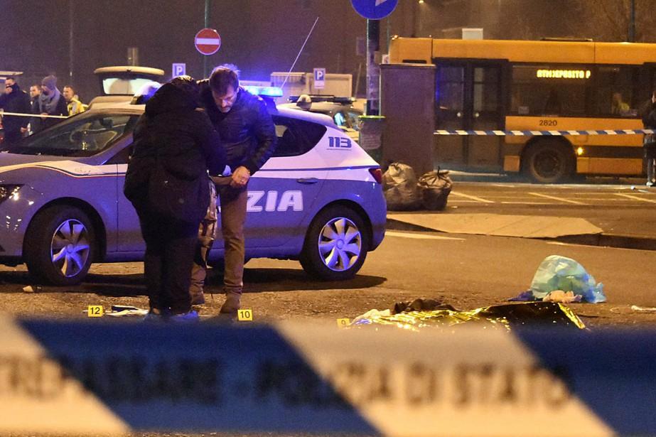 L'homme a été abattu lors d'un contrôle de... (Photo Daniele Bennati, AP)