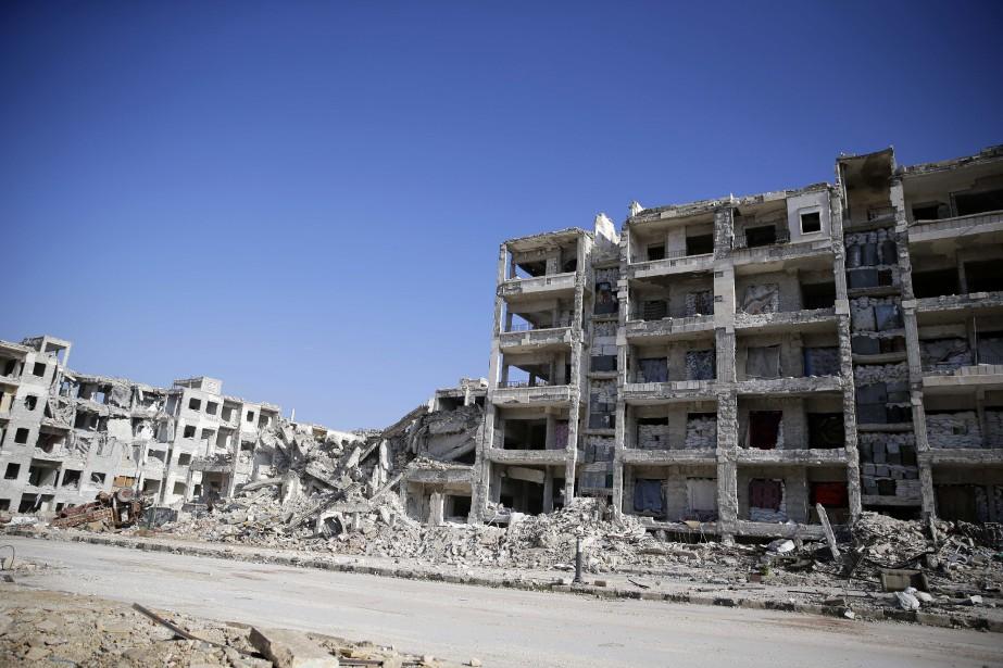 Le régime syrien a annoncé jeudi avoir repris... (Photo Hassan Ammar, Archives AP)