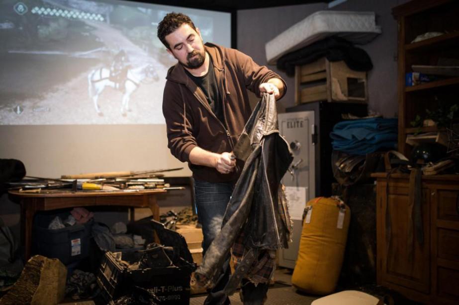 Le bruiteurTchae Measroch travaille chez Ubisoft depuis 2006.... (PhotoSIMON GIROUX, LA PRESSE)